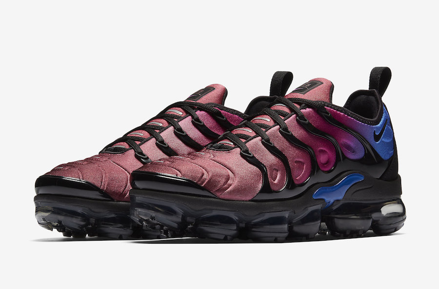 "7015520231 ... sunset colorway to your sole collection look for the Womens Nike  Vapormax Plus ""Hyper Violet"" to release on January 25th at select  retailers, ..."