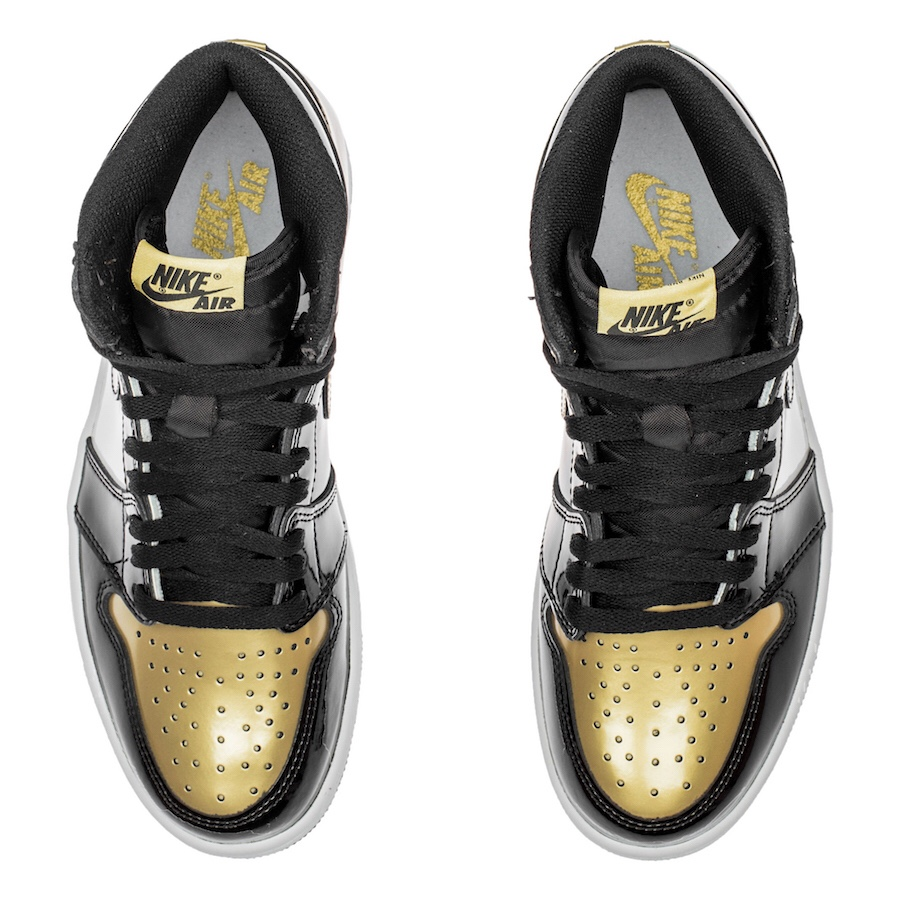 """e5fd082ea853 Go for Gold with the Air Jordan 1 """"Gold Toe"""" – chx with sole"""