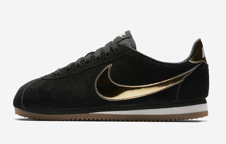 "newest 34a0d 18ab9 Nike Cortez SE ""Metallic Gold"" Pack – chx with sole, inc"