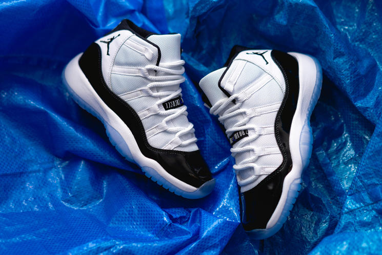 c3c06fd624be The Ultimate Grail  The Air Jordan XI Concord – chx with sole